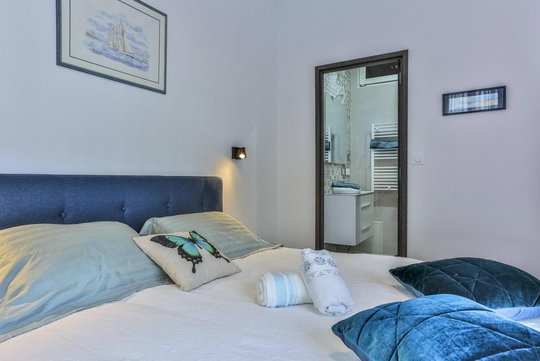 Promenade des Anglais - Vue mer - 2 chambres- Clim ; appartement en ...