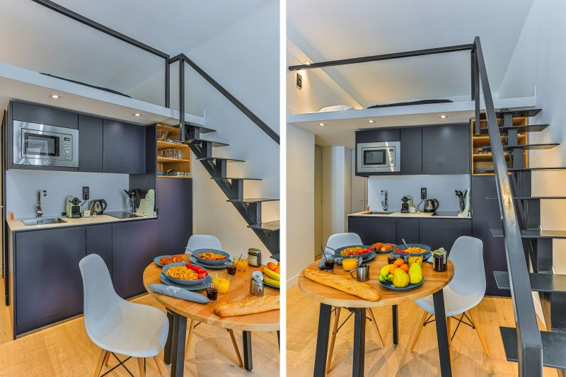 GIOFFREDO 462 · Studio duplex neuf - Clim - 5 minutes de la mer