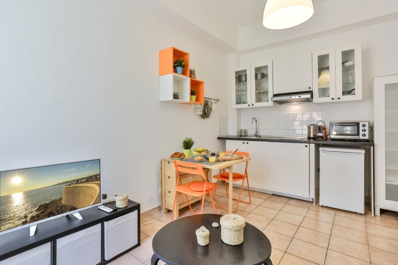 Appartement confortable - à 1 min de la plage